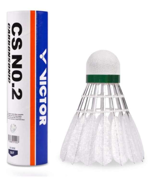 Badmintonové carbonové míče VICTOR Carbonsonic CS No.2 (dóza á6)