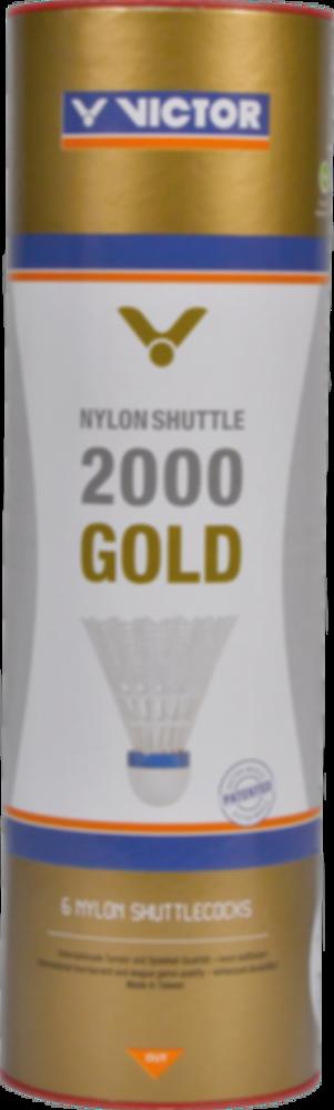 Badmintonové míče VICTOR Nylon Shuttle 2000 White