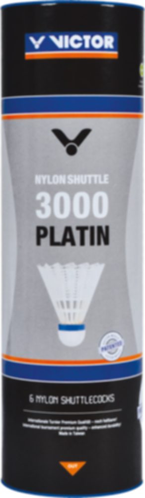 Badmintonové míče VICTOR Nylon Shuttle 3000 White á6