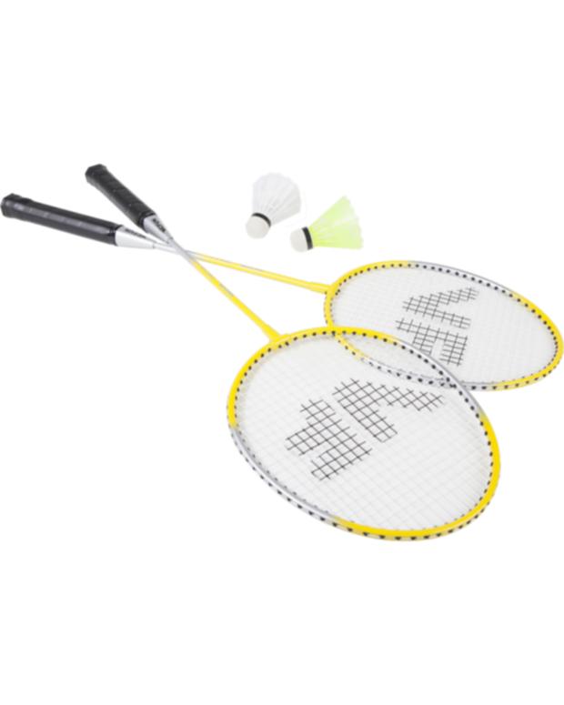 Badmintonový set VICFUN Hobby set Typ B (2 rakety, 2 nylon míče)