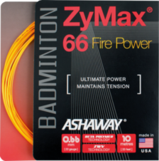 Badmintonový výplet ASHAWAY Zymax 66 Fire Power (0.66 mm)