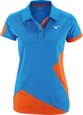 Dámské tričko VICTOR 2018 Polo Function Female  6118 orange