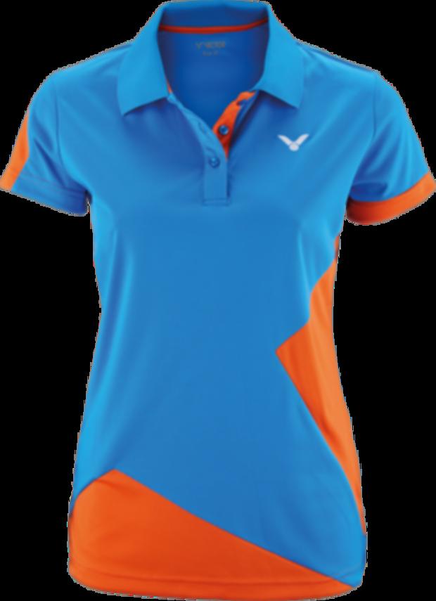 Dámské tričko VICTOR 2018 Polo Function Female  6118 orange