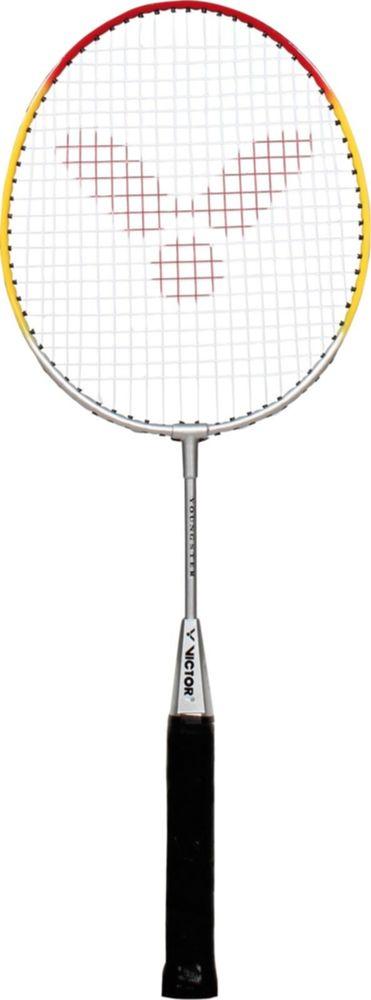 Dětská badmintonová raketa VICTOR 2017 Youngster (55 cm) silver/yellow/red (bez obalu)