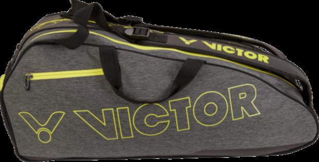 Taška na rakety VICTOR 2021 Doublethermobag 9110 grey/yellow
